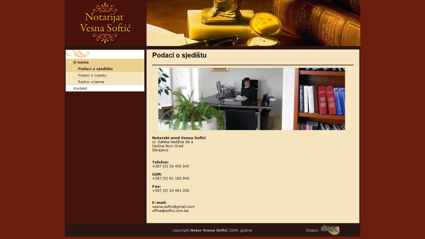 www.vesnasoftic.notar.ba