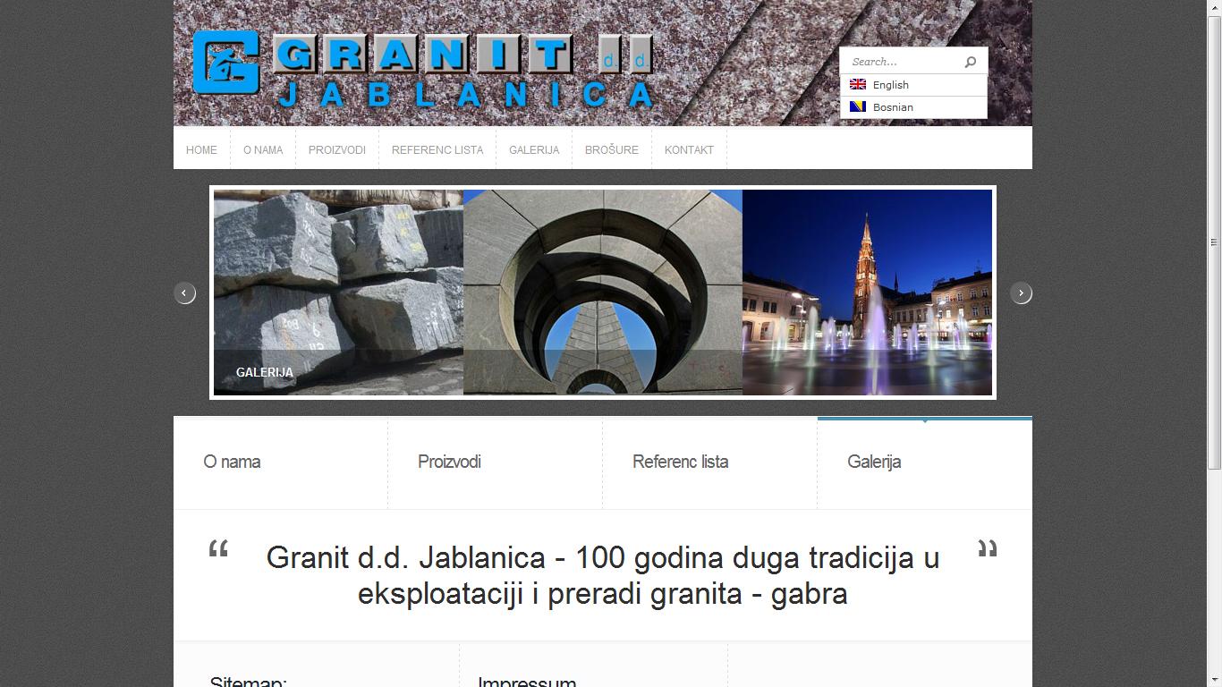 www.granit-jablanica.ba